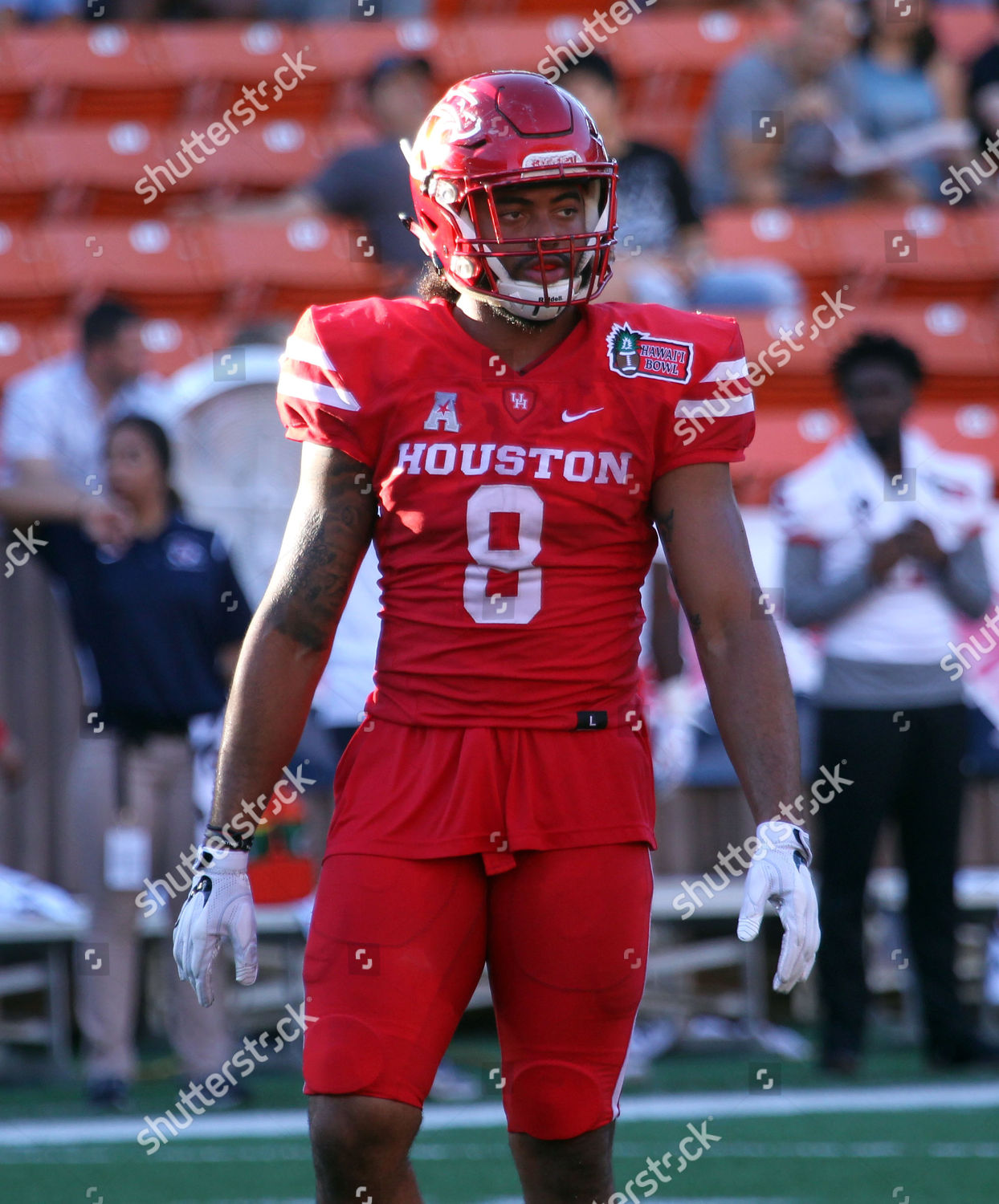 super popular 84b2a 66bb7 Houston Cougars linebacker Emeke Egbule 8 during Editorial ...