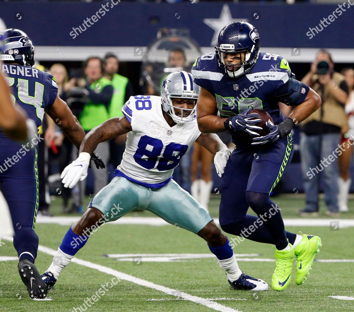 Kj Wright Dez Bryant Seattle Seahawks Outside Editorial
