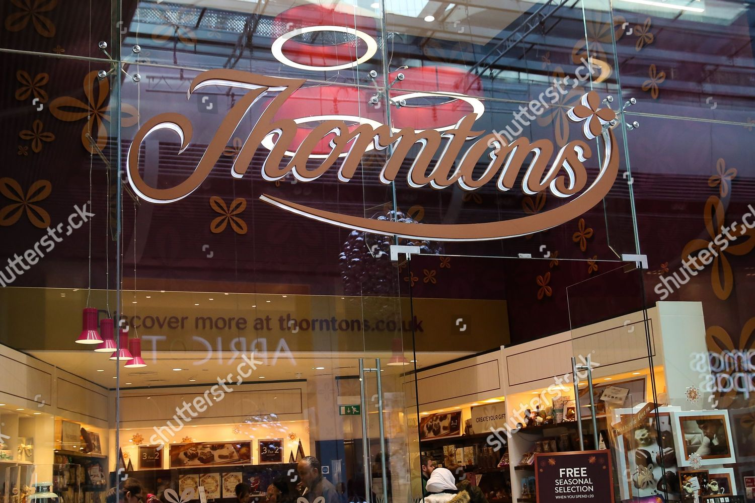 add4e0c2 Thorntons store Westfield Stratford City East London Editorial Stock ...