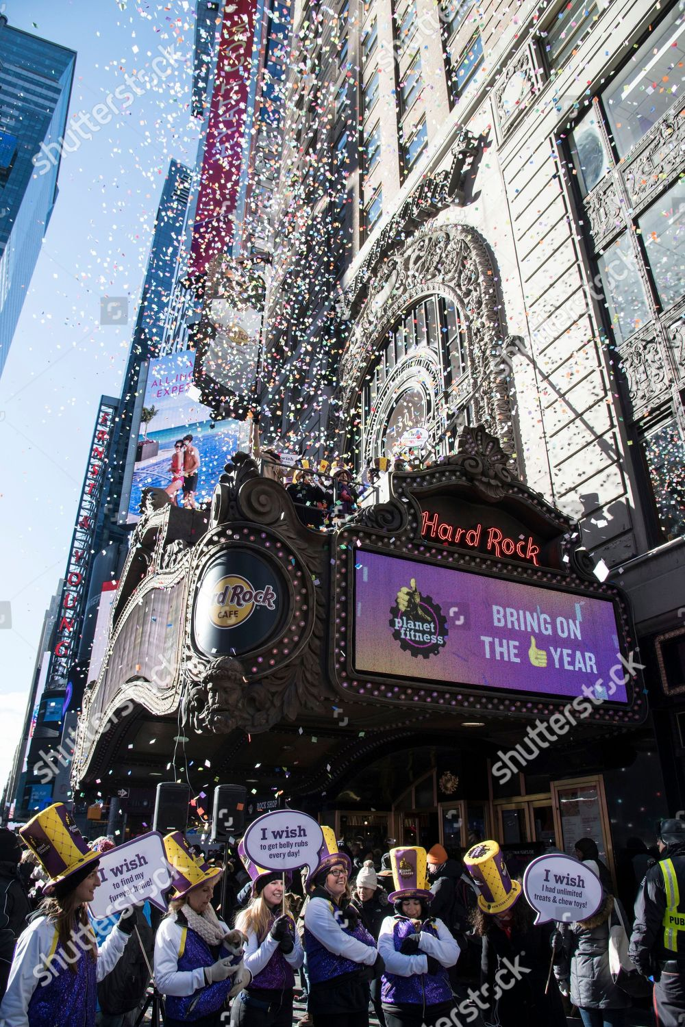Presenting sponsor Times Squares New Years Eve Editorial