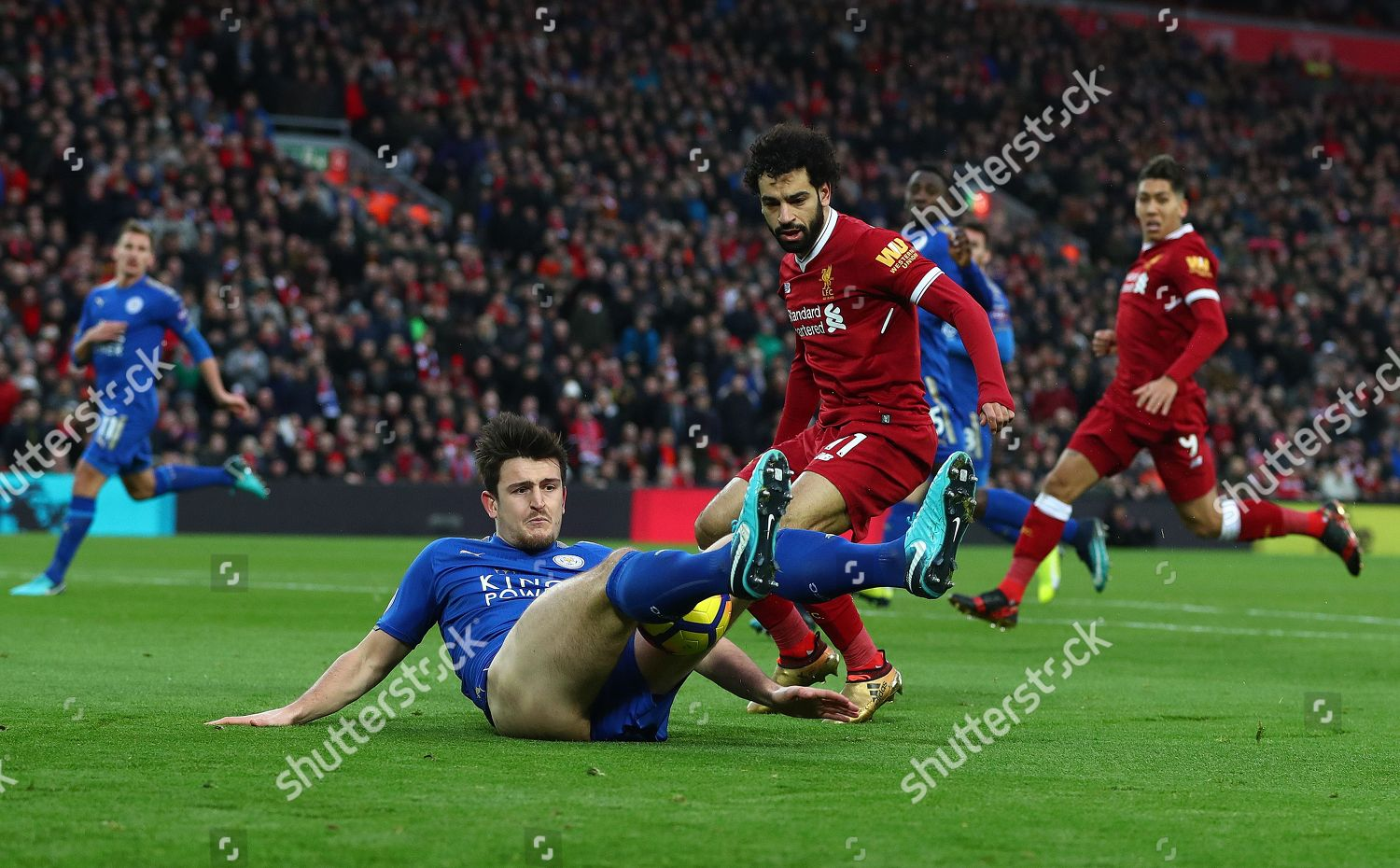 Harry Maguire Leicester City Gets Wedgie He Editorial Stock Photo Stock Image Shutterstock
