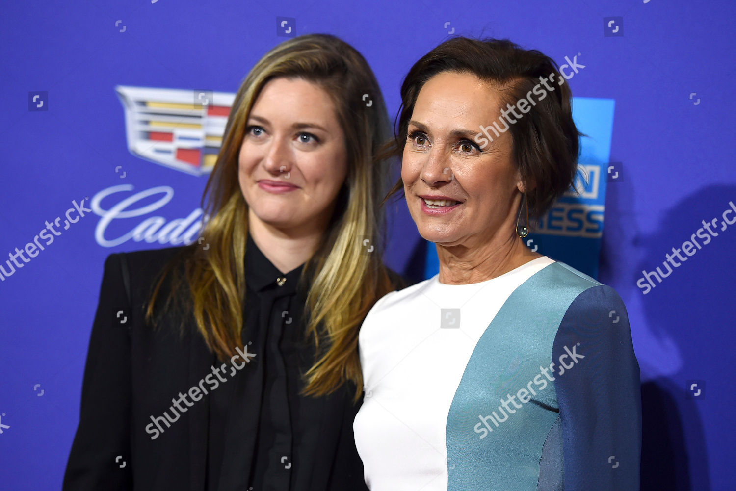 Laurie Metcalf Zoe Perry Zoe Perry Left Editorial Stock