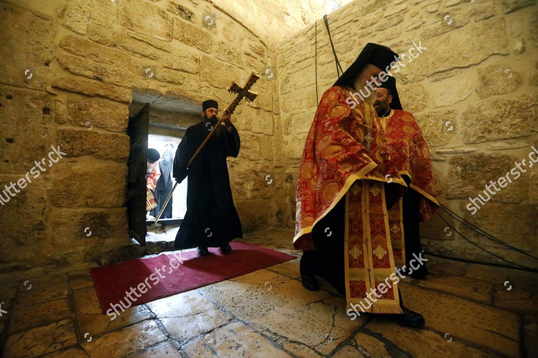 Eastern Orthodox Christmas.Theophilos Iii Editorial Stock Photo Stock Image