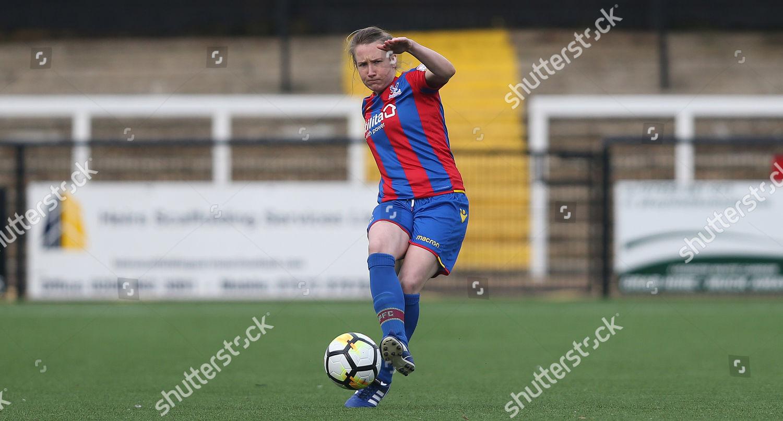 Sarah Jones Crystal Palace Ladies on ball Editorial Stock Photo
