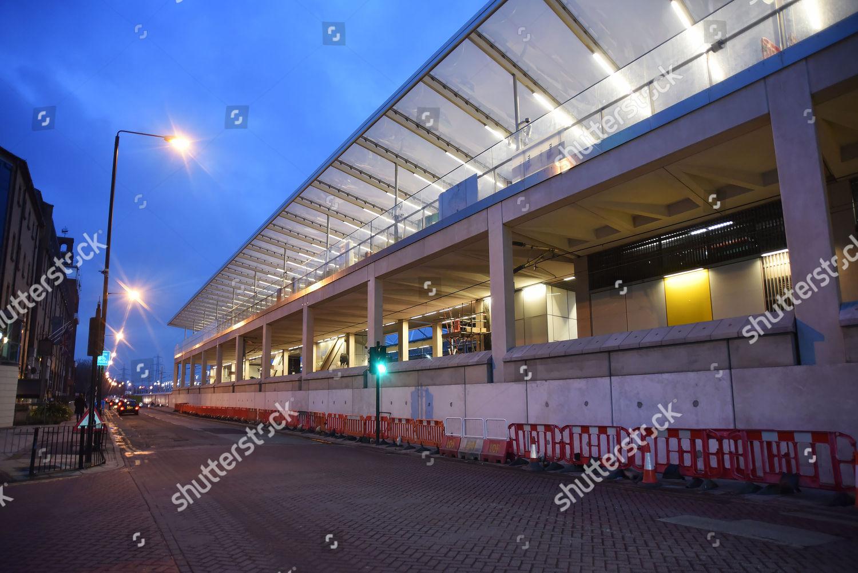 Custom House Crossarail Station Editorial Stock Photo Stock Image Shutterstock
