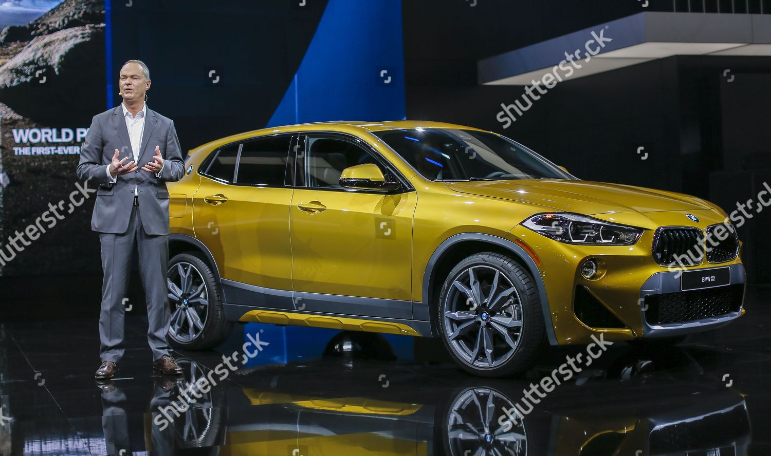 Bernhard Kuhnt CEO BMW North America introduces Editorial