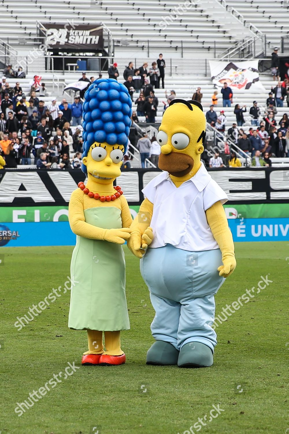 Simpsons mascots Editorial Stock Photo - Stock Image