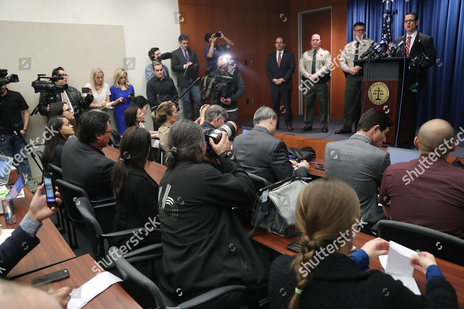 Riverside County District Attorney Mike Hestrin R Editorial Stock