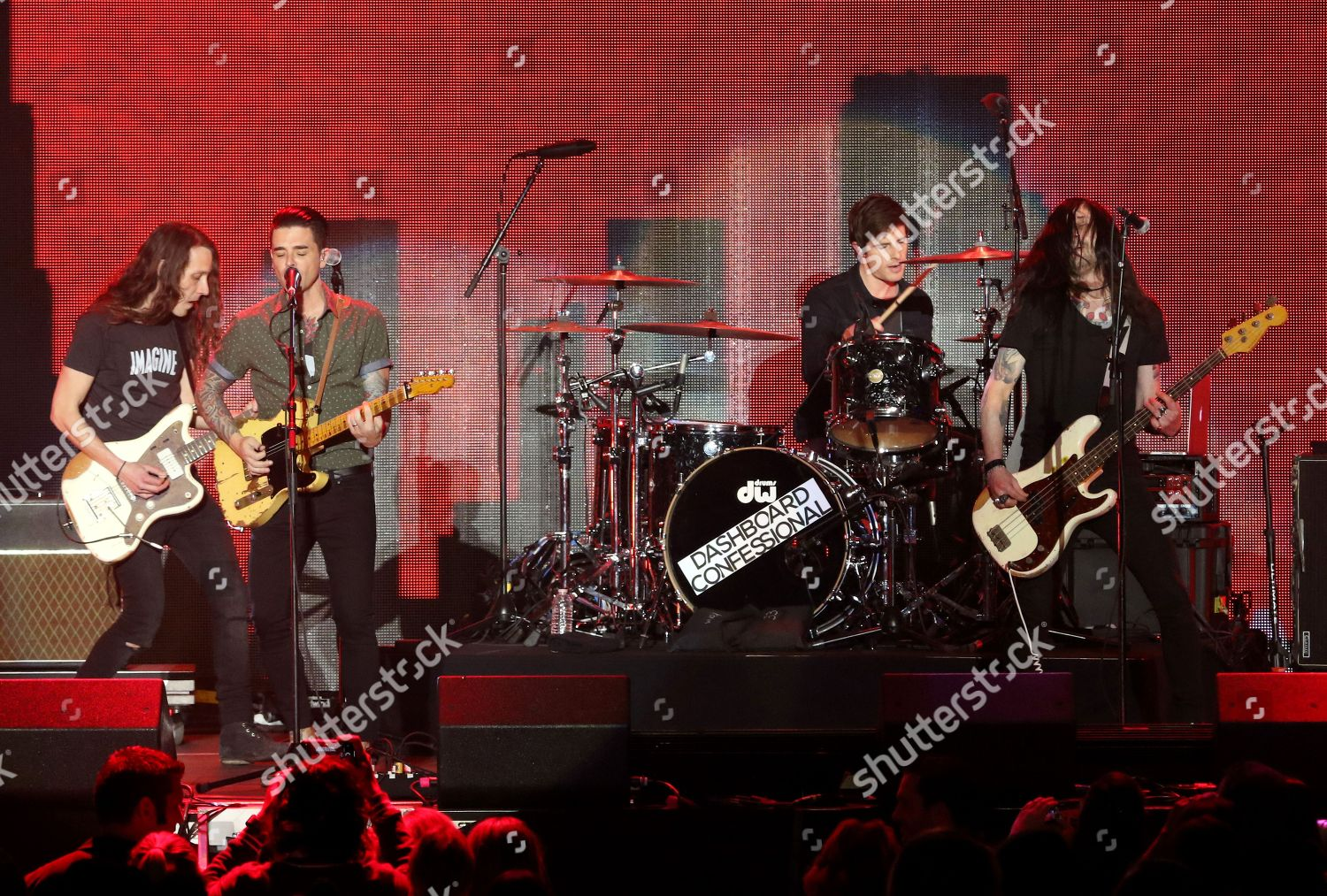 Dashboard Confessional performs on stage iHeartRadio ALTer