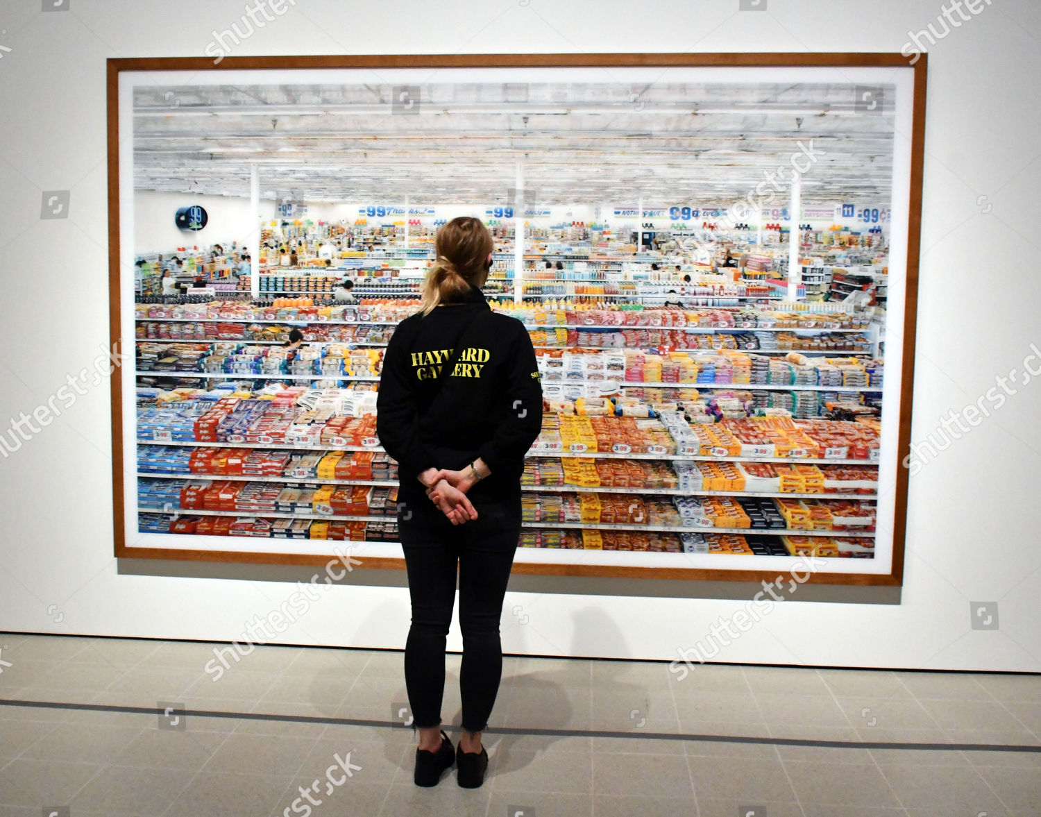 Andreas Gursky Exhibition At The Hayward Gallery London UK