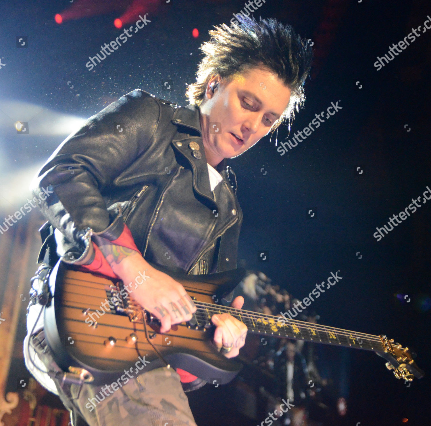 Lead guitarist Synyster Gates band Avenged Sevenfold