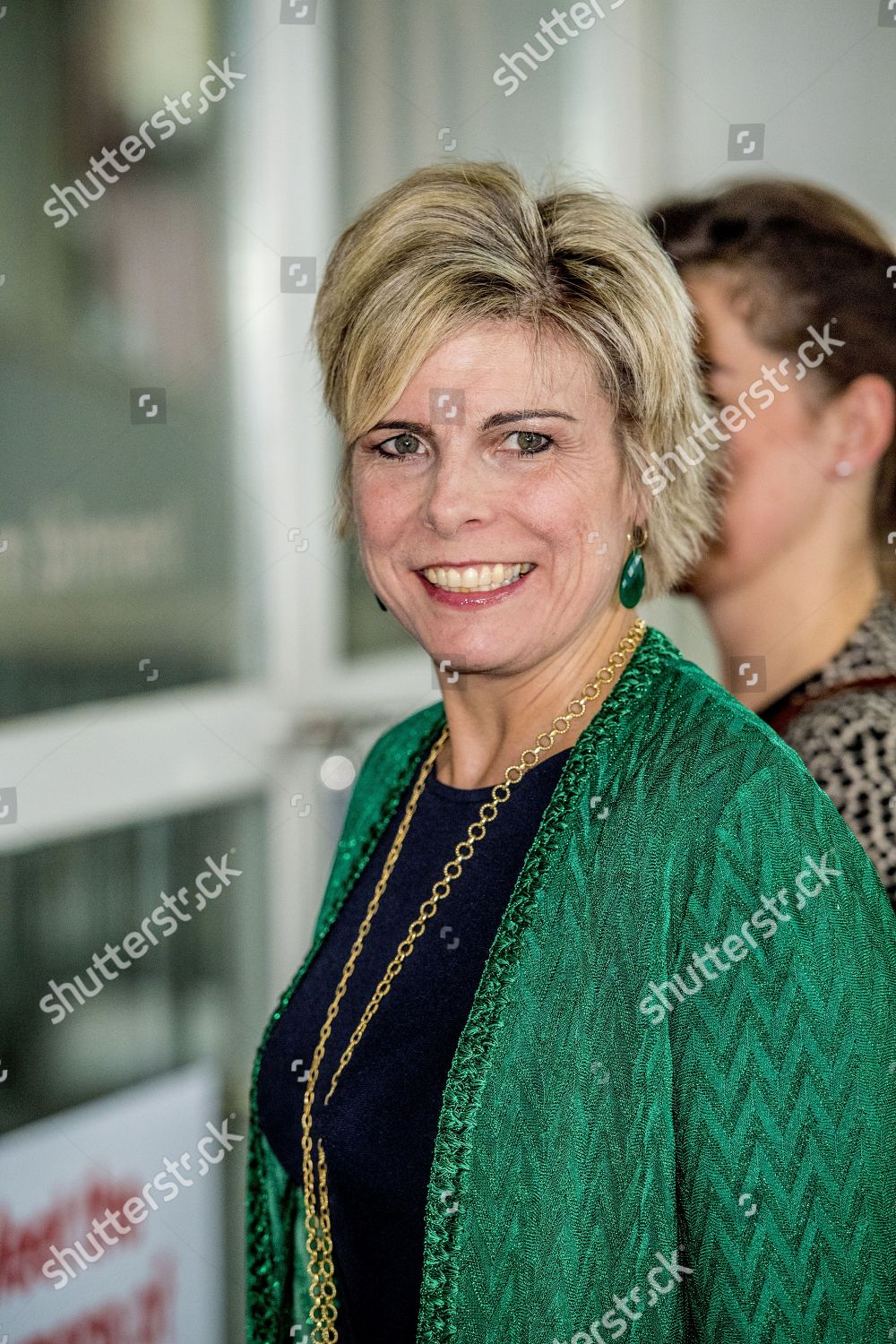 Princess Laurentien of the Netherlands awards the TaalHelden Prize, Rotterdam, The Netherlands - 25 Jan 2018: стоковое фото
