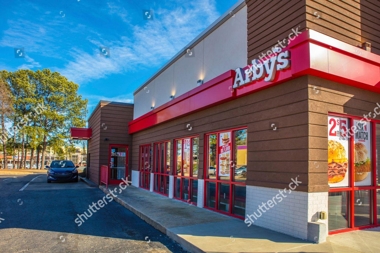 Arbys Restaurant Atlanta Ga Editorial Stock Photo Stock