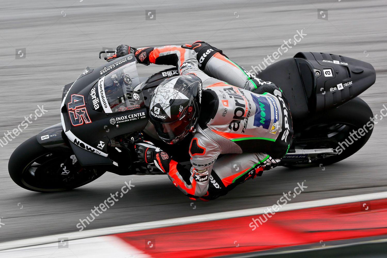 MotoGP rider Scott Redding Britain steers his Editorial