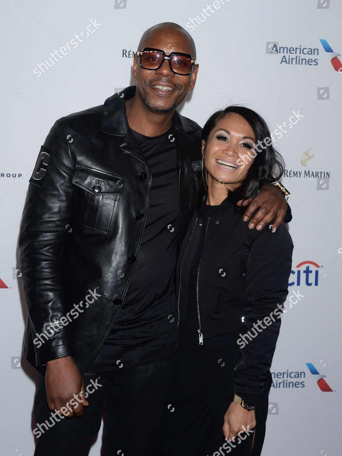 dave chappelle wife elaine chappelle editorial stock photo stock image shutterstock https www shutterstock com editorial image editorial universal music groups grammy after party arrivals new york usa 28 jan 2018 9337428y