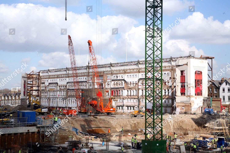 Old Arsenal Highbury Stadium Today Building Has Editorial Stock Photo Stock Image Shutterstock