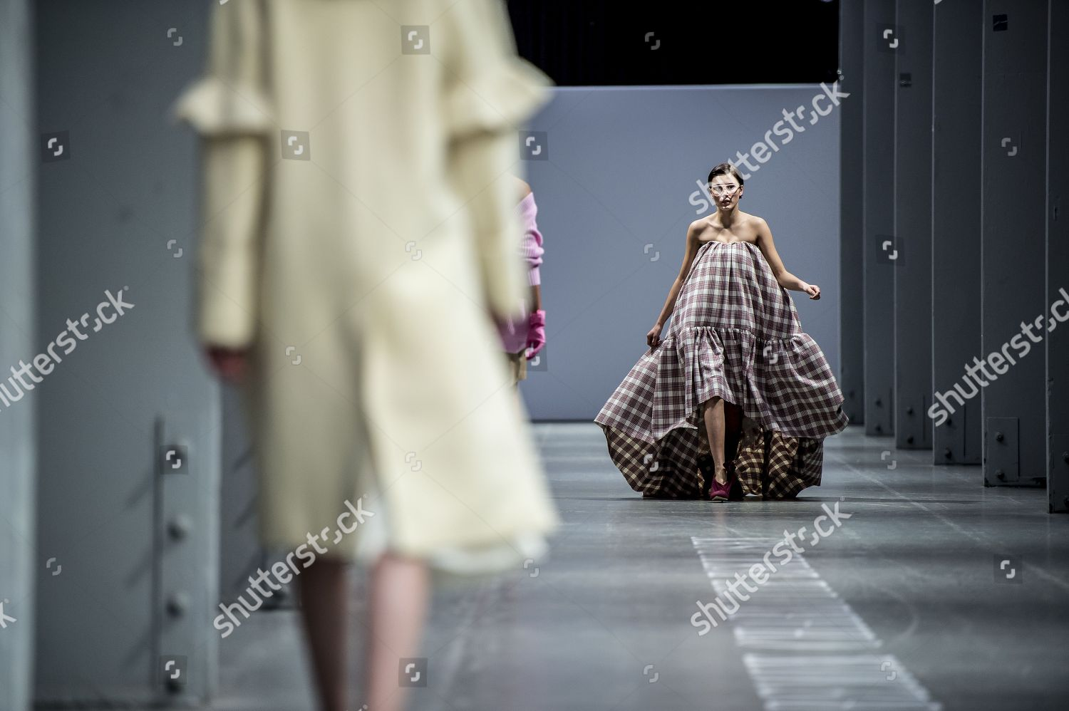 Models Present Creations Fallwinter 2018 Collection Danish Editorial Stock Photo Stock Image Shutterstock