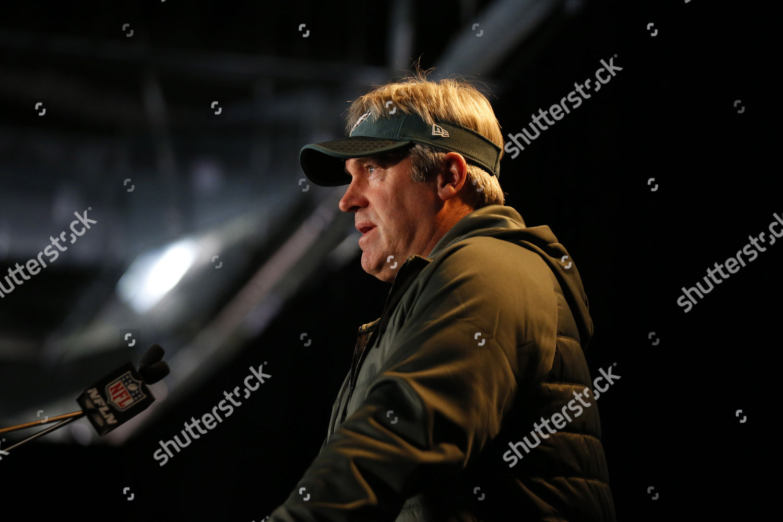 huge discount 445a9 f7719 Philadelphia Eagles head coach Doug Pederson speaks ...