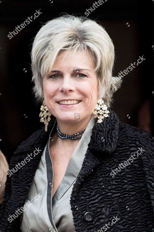 Princess Beatrix 80th birthday, Royal Palace, Amsterdam, The Netherlands - 03 Feb 2018: стоковое фото