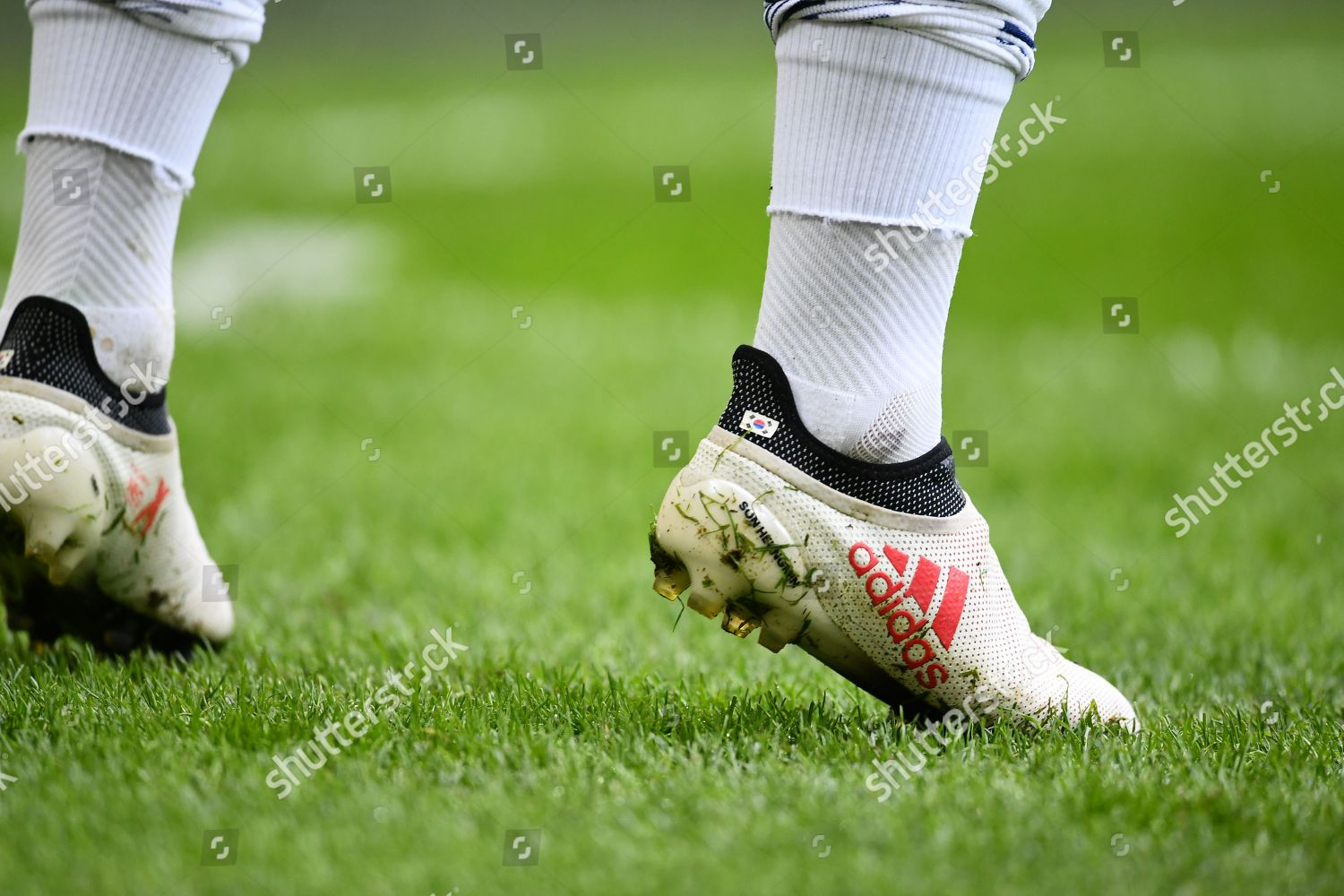 Personalized Adidas football boots