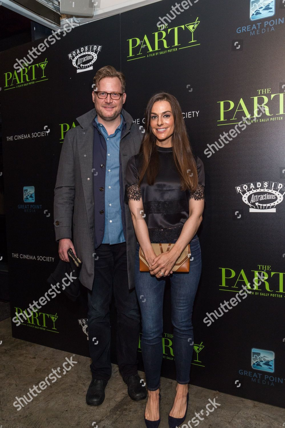 Stock photo of 'The Party' film screening, Arrivals, New York, USA - 12 Feb 2018