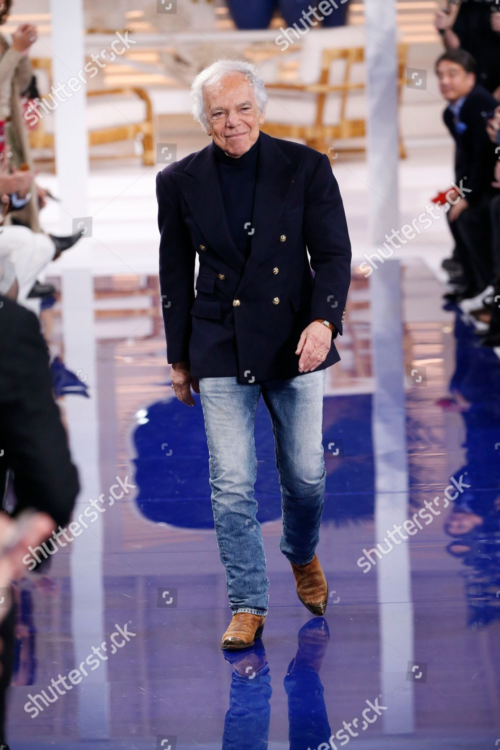 Ralph Lauren Designer On Catwalk Editorial Stock Photo Stock Image Shutterstock