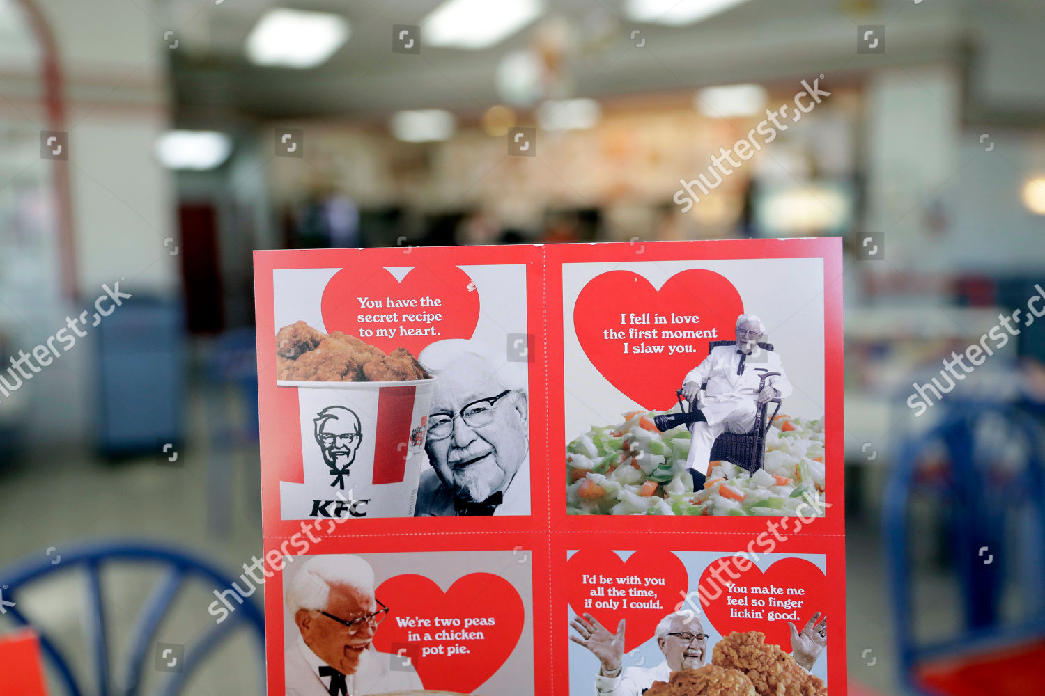 Valentines Day Scratchandsniff Cards Which Give Off Editorial Stock