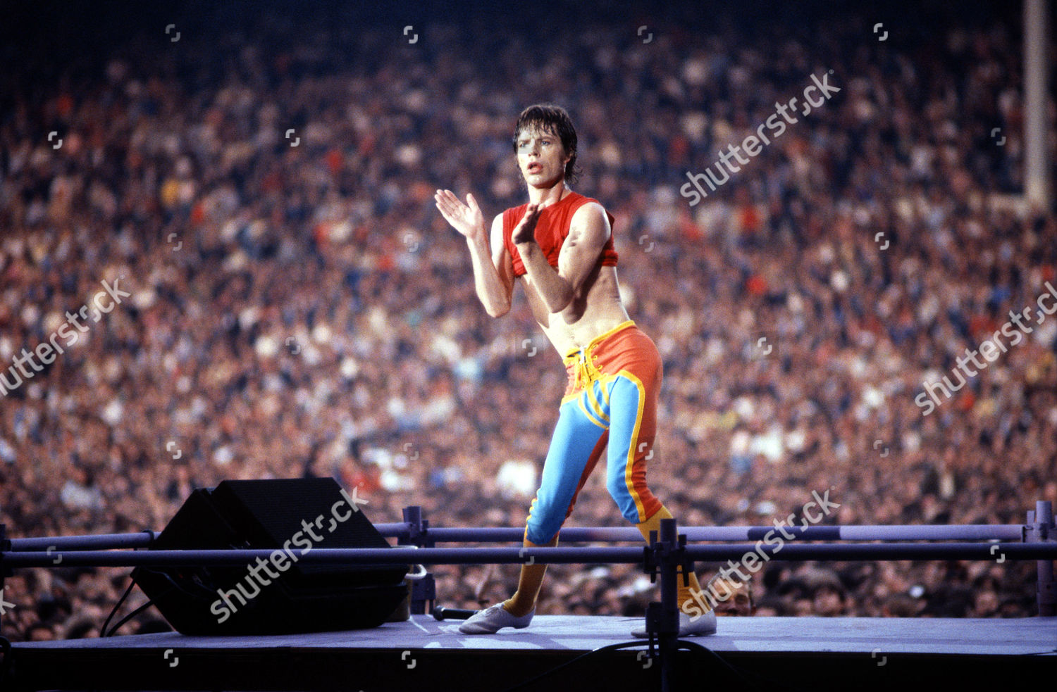 Rolling Stones Mick Jagger Editorial Stock Photo - Stock