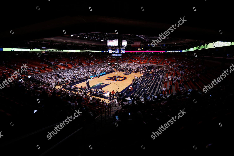Auburn Arena Seen Before Ncaa College Basketball Editorial