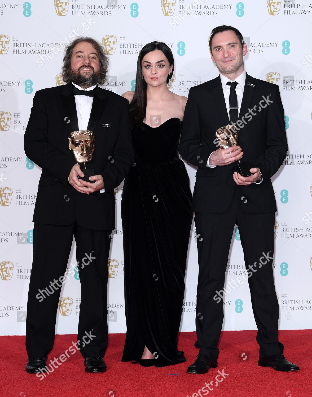 Stock photo of 71st British Academy Film Awards, Press Room, Royal Albert Hall, London, UK - 18 Feb 2018