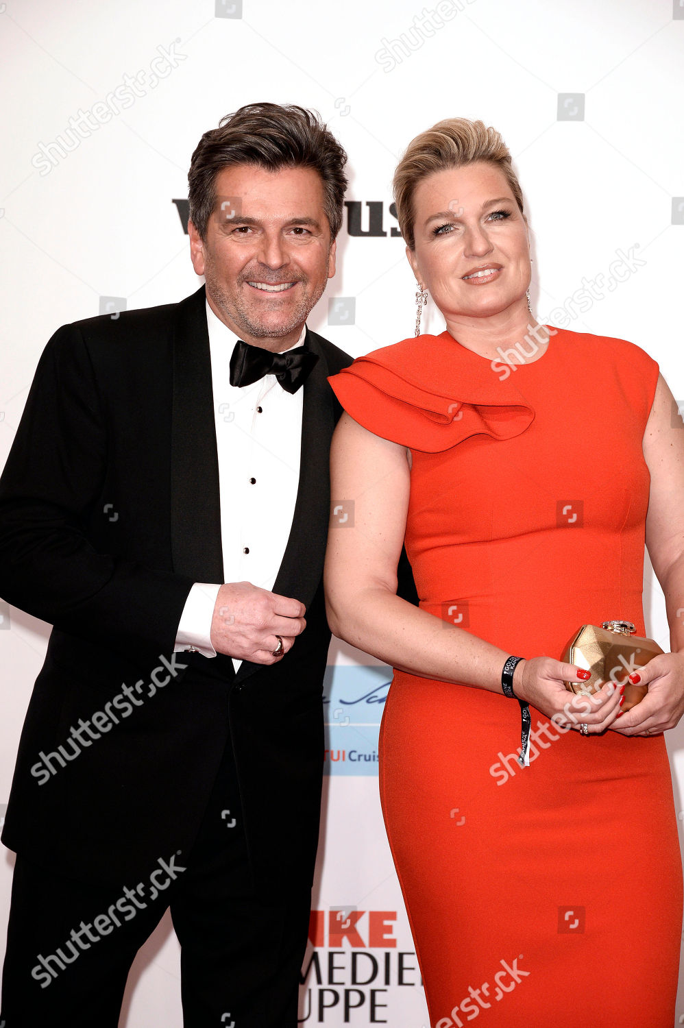 Thomas Anders Und Frau Claudia Anders Editorial Stock Photo Stock