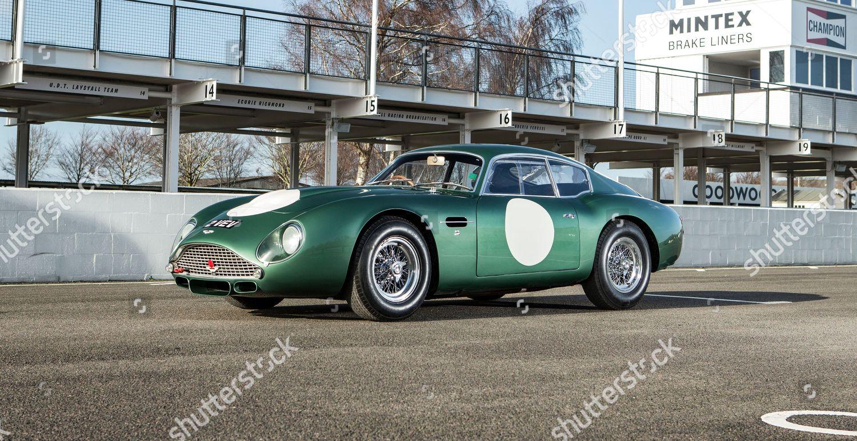 1961 Aston Martin Db4 Gt Zagato Foto Editorial En Stock Imagen En Stock Shutterstock