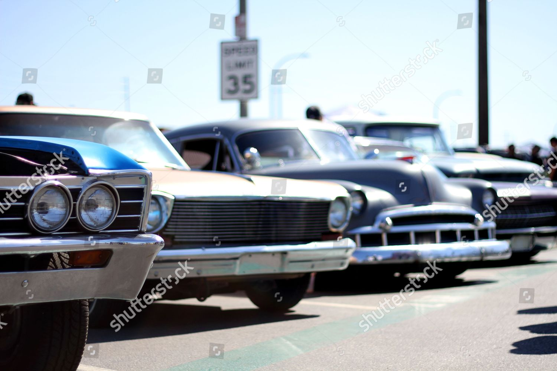 Classics Custom Cars Motor Bikes Editorial Stock Photo Stock Image - Long beach car show 2018