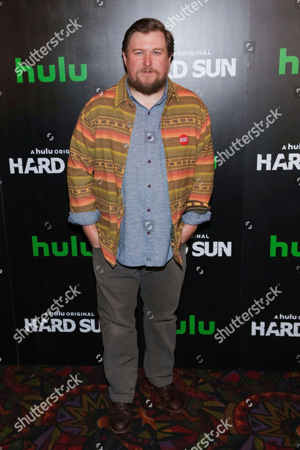 Michael Tuner attends Hulu original series premiere Editorial Stock