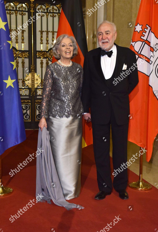 Heidi Mahler Ehemann Michael Koch Redaktionelles Stockfoto