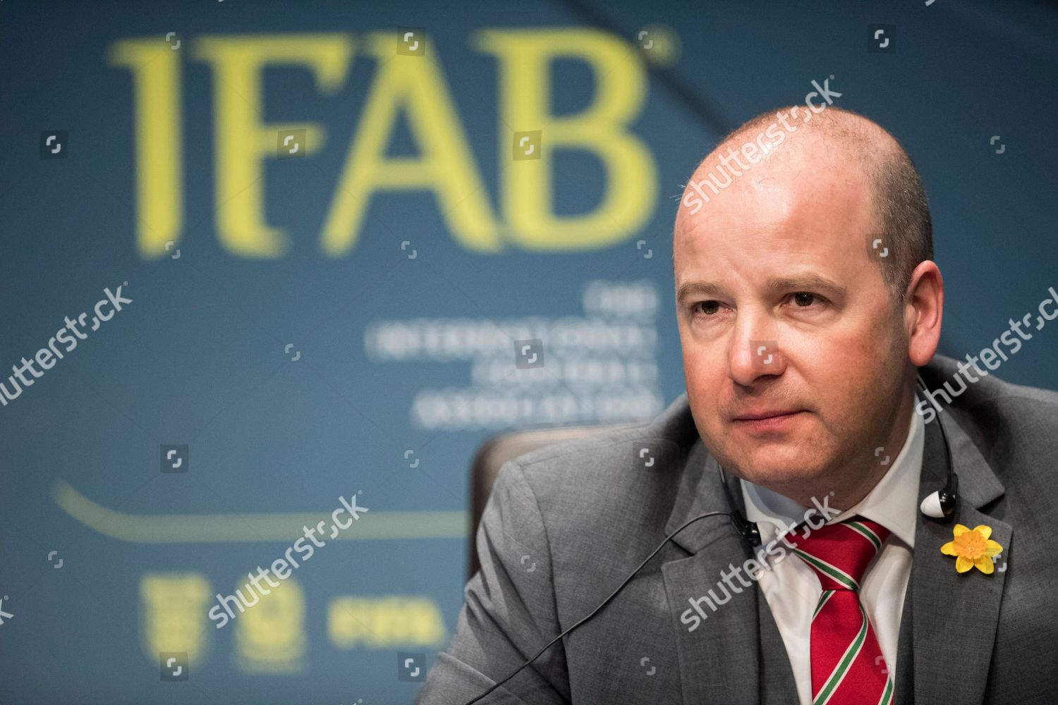 Stock photo of International Football Association Board (IFAB) Annual  General Meeting 47a45ce857ee0