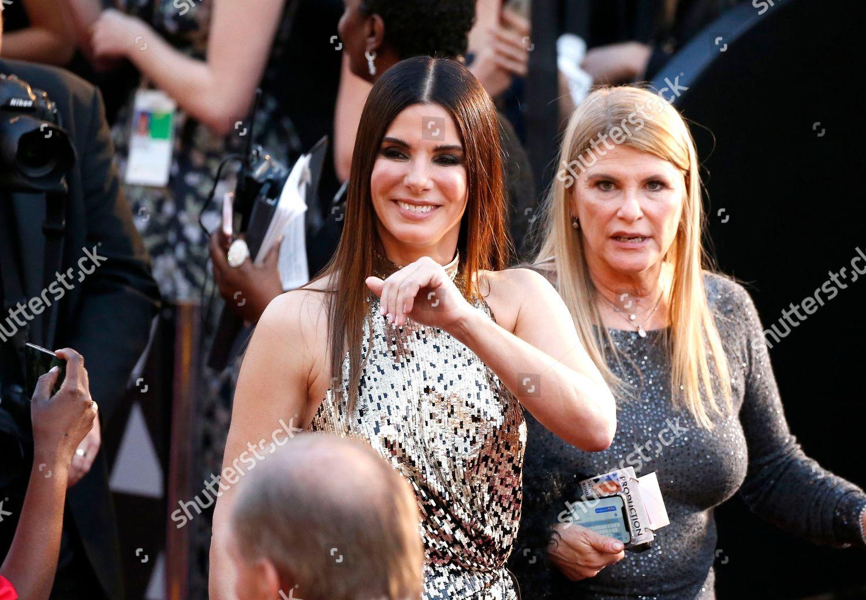 Sandra Bullock arrives Oscars Dolby Theatre Los Editorial