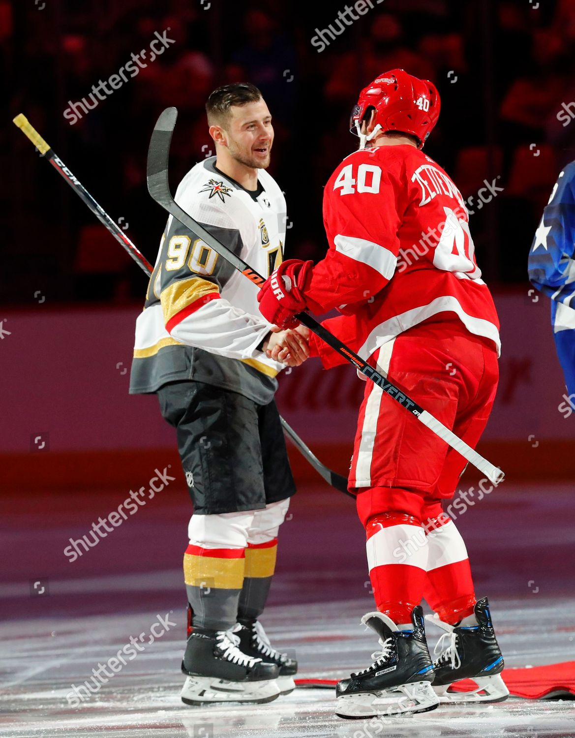 Vegas Golden Knights Tomas Tatar 90 Shakes Editorial Stock Photo Stock Image Shutterstock