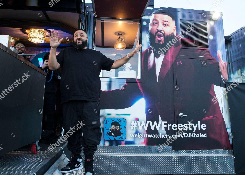 Music mogul dj khaled speaks fans about editorial stock photo inv khaleds kitchen meet greet rosemont m4hsunfo