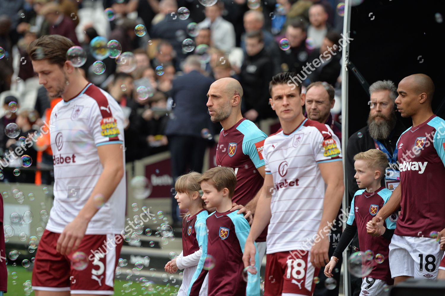 Players Arrive During West Ham United Vs Editorial Stock Photo Stock Image Shutterstock