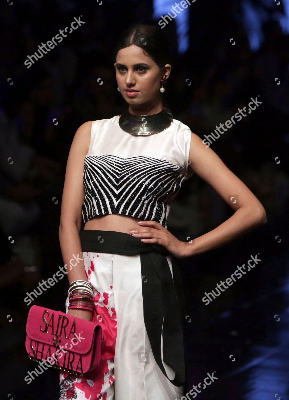 Model Presents Creation By Pakistani Designer Saira Editorial Stock Photo Stock Image Shutterstock