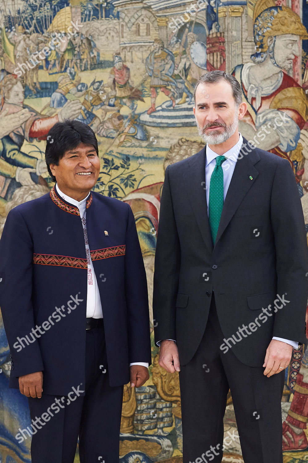 ¿Cuánto mide Evo Morales? - Altura - Real height President-of-bolivia-evo-morales-visit-to-spain-shutterstock-editorial-9465489g
