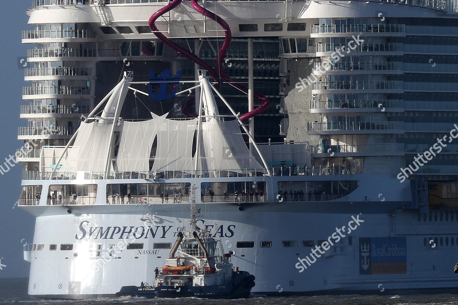 Cruise Ship Symphony Seas Leaves Port St Editorial Stock Photo