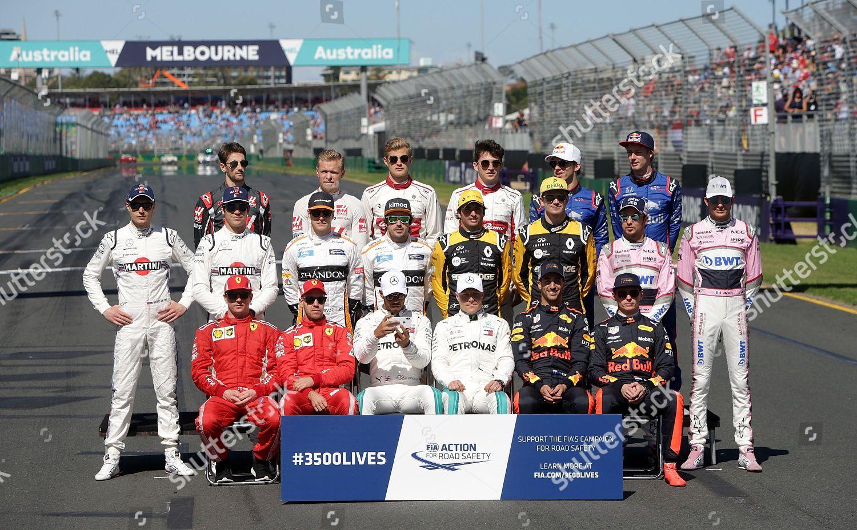 25032018 Albert Park Melbourne Formula 1 2018 Editorial Stock Photo
