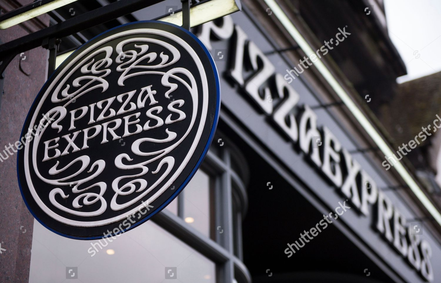 Pizza Express Restaurant Sign Editorial Stock Photo Stock