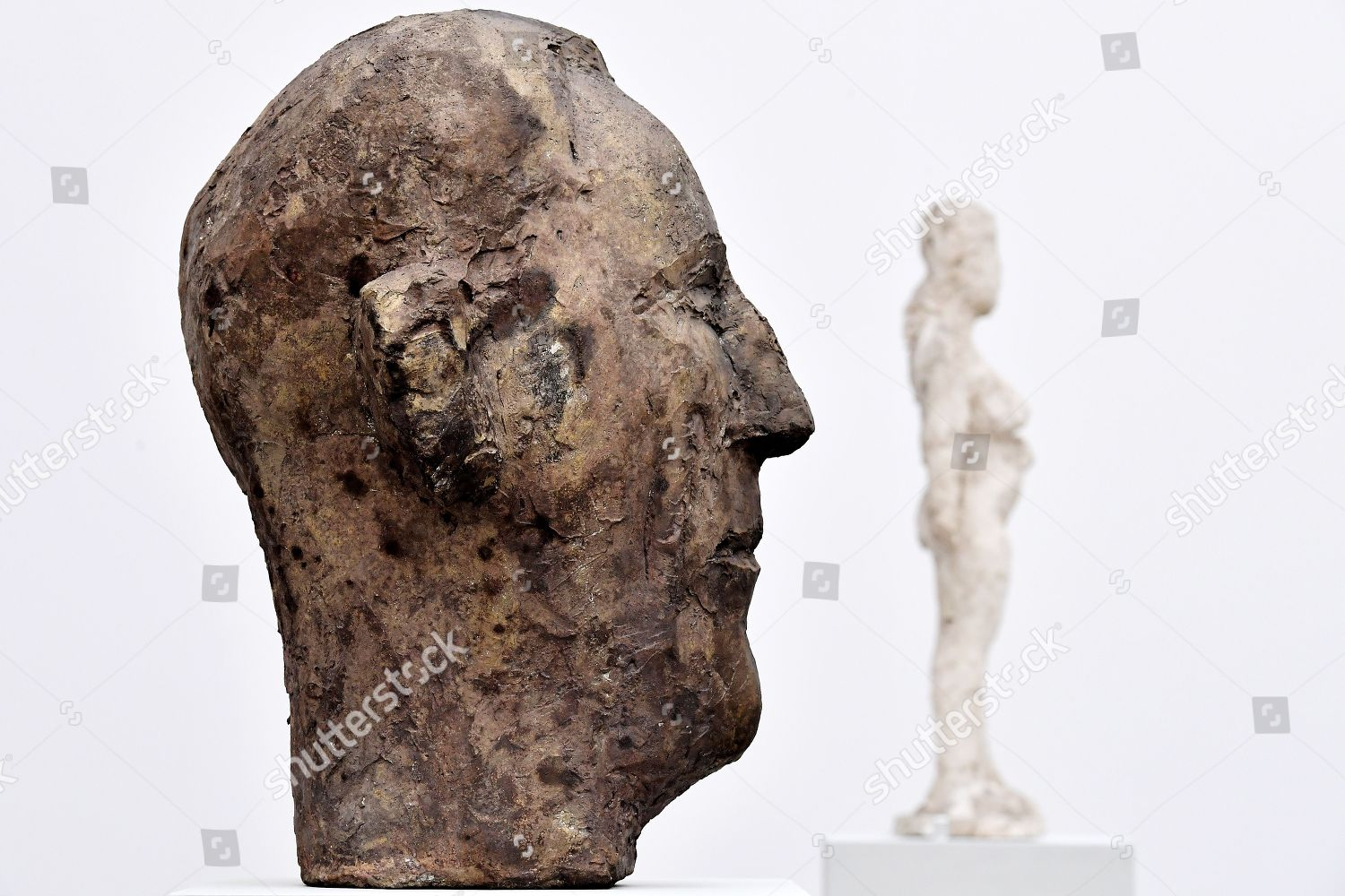 Untitled brass sculptures on display during exhibition Editorial Stock Photo - Stock Image | Shutterstock