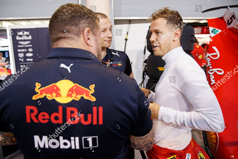 German Formula One driver Sebastian Vettel Scuderia
