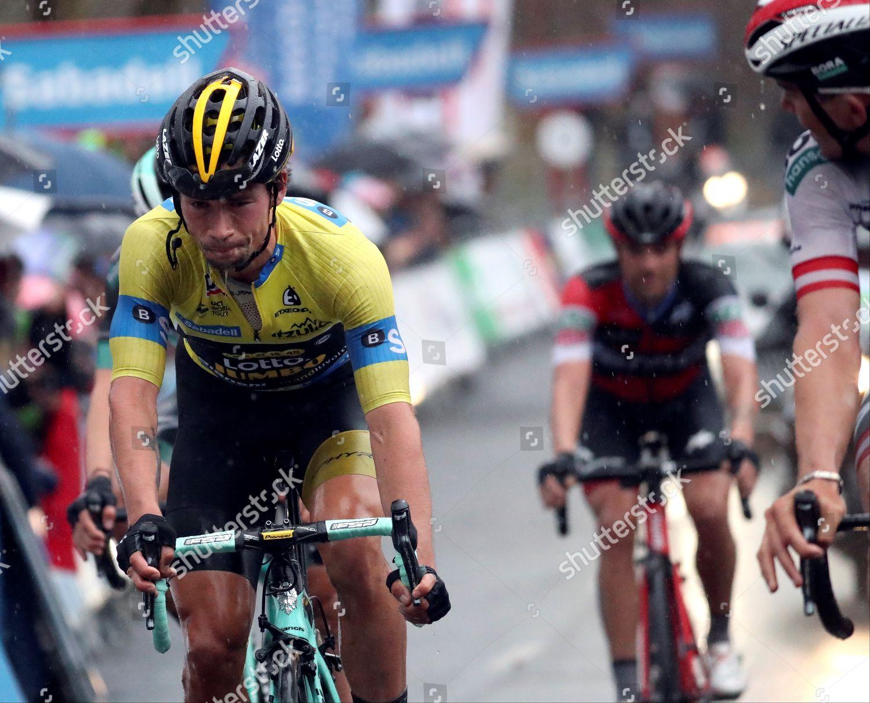 34ae6814d Slovenian rider Primoz Roglic Lotto action during Editorial Stock ...
