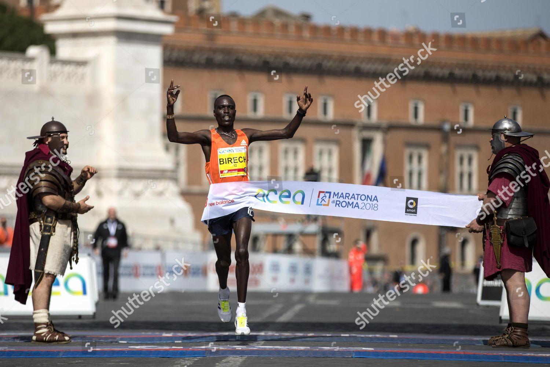 Kenyan steeplechase runner Jairus Kipchoge Birech wins Editorial ...