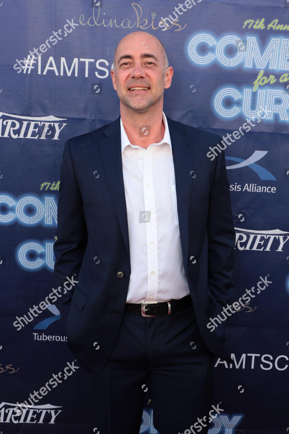 Stock photo of 17th Annual Comedy for a Cure benefiting Tuberous Sclerosis Alliance, Universal City, Los Angeles, USA - 08 Apr 2018